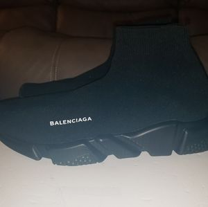 Balenciaga shoes size 12 black used